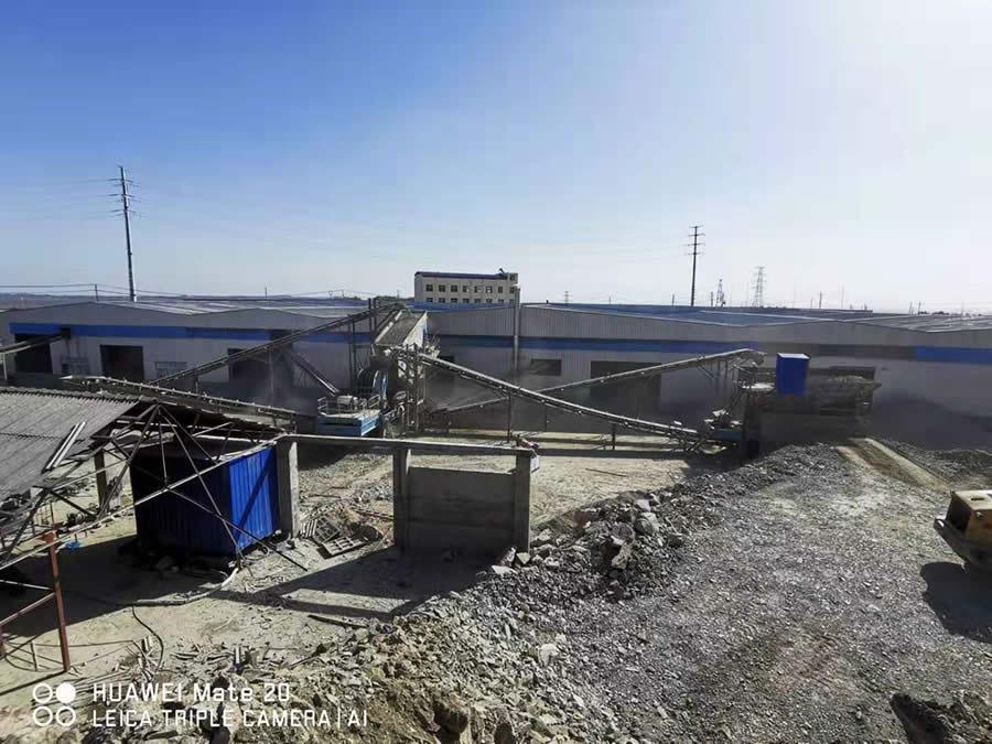出租移动破碎站—湖北随州150t/h青石破碎生产线