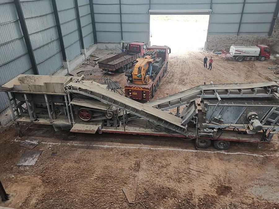 洛阳伊川石灰石生产线